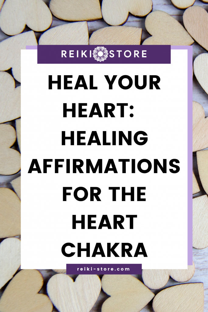 affirmations de guérison pour le chakra du cœur